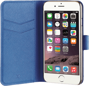 Xqisit iPhone 7/8 Book Stand Case Viskan blue