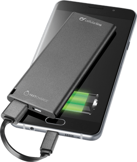 cellularline Power Bank Slim 3000 mAh fast charge