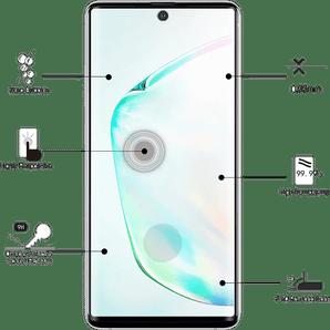Eiger Galaxy Note10+ screen protector 3D Glas black