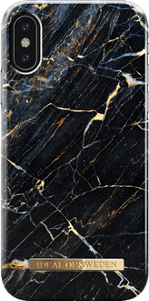 iDeal of Sweden iPhone X/Xs Cover Marble Black