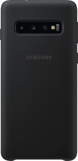 Samsung Galaxy S10 Silicon Backcover black