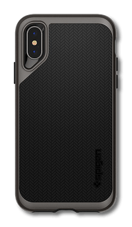Spigen iPhone X/Xs Cover Neo Hybrid gunmetal gray