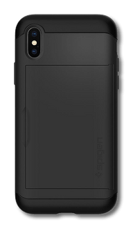 Spigen iPhone X/Xs Slim Armor Cover black