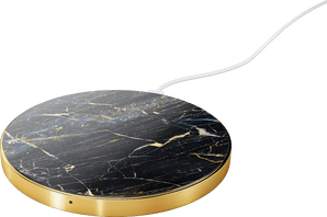 iDeal of Sweden Wireless Charging Plate 10W Marble Black