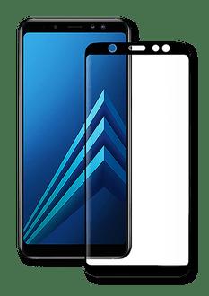 Eiger Galaxy A6 (2018) screenprotector 3D Glas tra