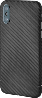 itStyle iPhone Xs Max Carbon Edition Backcover black