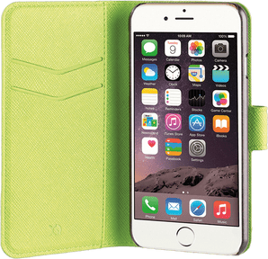 Xqisit iPhone 7/8 Book Stand Case Viskan green