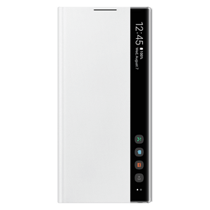 Samsung Galaxy Note 10 Clear View Flip Cover white