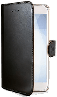 Celly Galaxy A6 Book Stand Case black