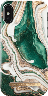 iDeal of Sweden iPhone Xs Max Cover Marble Green