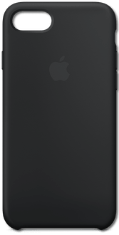 Apple iPhone 7/8 NEW Silicon Backcover black