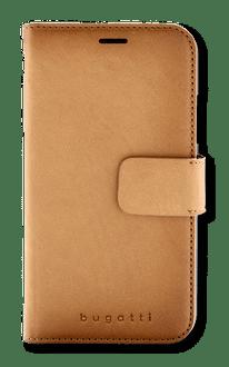 bugatti iPhone XR Book Case Leather cognac