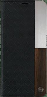 uUnique Galaxy S8 Book Case Wood black