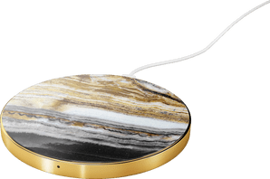 iDeal of Sweden Wireless Charging Plate 10W Marble Grey