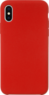 JT Berlin iPhone X/Xs Silicon Backcover red