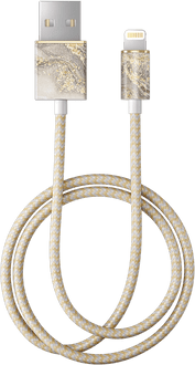 iDeal of Sweden Data Cable Lightning 1m Marble Grey