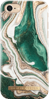 iDeal of Sweden iPhone 7/8 Cover Marble Green