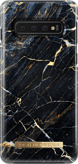 iDeal of Sweden Galaxy S10 Cover Marble Black