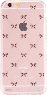 Uniq iPhone 7/8 Plus TPU Case transp rosego ribbon