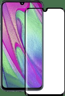 Eiger Galaxy A40 screenprotector 3D Glas