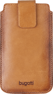 bugatti Universal Case leather Size 3XL Cognac