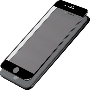 Eiger iPhone 6/7/8 screenprotector 3D Glas black
