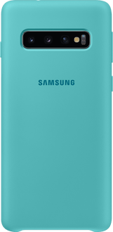 Samsung Galaxy S10 Silicon Backcover green