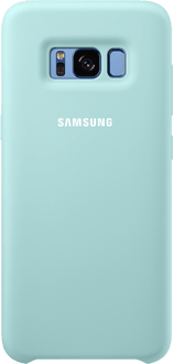 Samsung Galaxy S8 plus Silicon Backcover blue