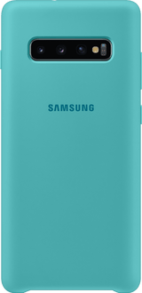 Samsung Galaxy S10 Plus Silicon Backcover green