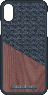 Nordic Elements iPhone X/Xs Backcover Wood grey