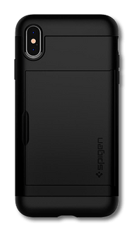 Spigen iPhone Xs Max Slim Armor Cover black