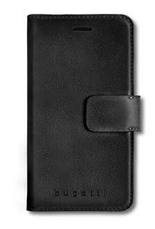 bugatti iPhone X/Xs Book Case Leather black