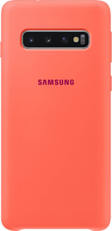 Samsung Galaxy S10 Silicon Backcover coral