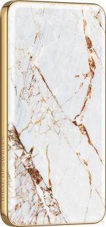 iDeal of Sweden Power Bank 5000 mAh Marble White/Gold