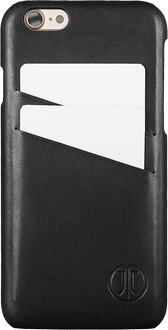 JT Berlin iPhone 7/8 BackCover Card Leather black