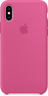 Apple iPhone X/XS Silicon Backcover Dragon Fruit