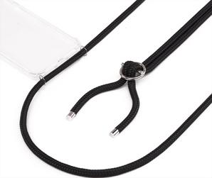 Jalouza Galaxy S10+ Necklace Silicon Cover Black