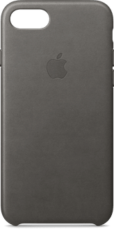 Apple iPhone 7/8 Leather Backcover storm grey