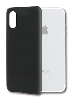 itStyle iPhone XR Backcover Rubberstyle black