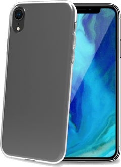 Celly iPhone XR Gelskin TPU Backcover transparent