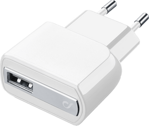 cellularline Charger 220V USB without cable white
