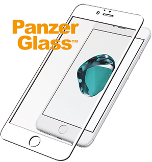Panzer Glass iPhone 6/6s screen prot Prem whi NEW