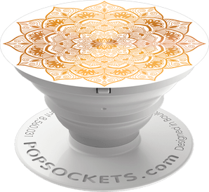 PopSocket Back-Holder Mandala white/gold