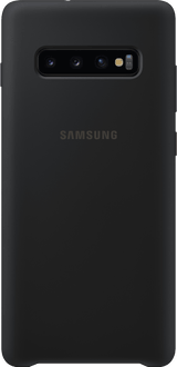 Samsung Galaxy S10 Plus Silicon Backcover black