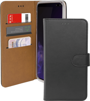 itStyle Galaxy S10 Plus Premium Book Case black