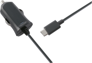 itStyle Charger 12V USB C 2.4 mAh  fix cable black