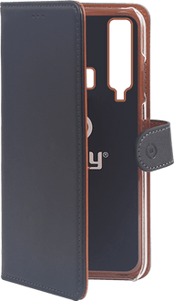Celly Galaxy A9 Book Stand Case black