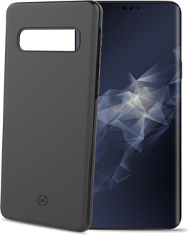 Celly Galaxy S10 UltraThin Magnetic Cover black