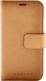 bugatti iPhone Xs Max Book Case Leather cognac