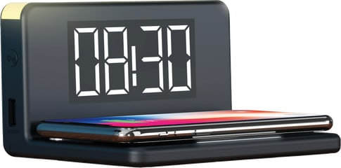 itStyle Alarm Clock Wireless Charger 10W